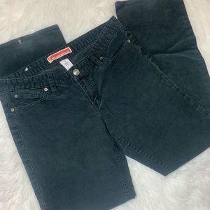Gap premium bootcut black corduroy pants size 12